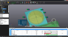 The sophisticated algorithms and calculation methods used by VXinspect 3D inspection software from AMETEK Creaform offer an accessible way to apply GD&T principles and practices to inspection projects. The intuitive software includes all of the tools for first article inspection and quality control, and provides simple integration for contact (probing) and non-contact (scanning) measurement in numerous manufacturing applications.