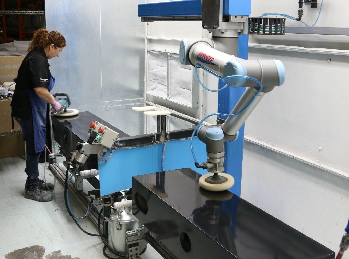 Polishing Up Operations with Collaborative Robots