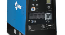 Ideal for construction, structural steel, mining maintenance, pipe welding, and maintenance and repair rigs, the new Big Blue 600 Pro welder/generator from Miller Electric uses a more powerful EPA Tier 4 Final-compliant engine to tackle jobs requiring high-output for welding, gouging and auxiliary power. Its improved arc characteristics, adjustable arc control, wireless remote compatibility and other key upgrades improve the ease of use, safety and performance.