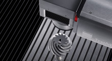 Laser marking a bevel gear. Lasers have a number of advantages over traditional inkjet printing, etching, mechanical engraving, and stamping. They can mark a wide array of materials, from ferrous and non-ferrous metals to organic materials such as thermoplastics and elastomers, with high marking quality and speeds, minimal effect on material, consistent results, and no tool wear.