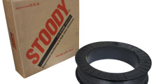 Nickel-based tungsten carbide wire products from Stoody offer superior wear resistance in applications exposed to extreme abrasion and low to moderate impact in the harshest industrial applications. They come in various diameters, ranging from 1/16 in to 3/32 in, and come spooled on 33 lb wire baskets or in 50 lb polypacks.