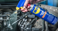 The Controller: WD-40 Trigger Pro allows more control of the rate and amount you spray through its non-aerosol can.