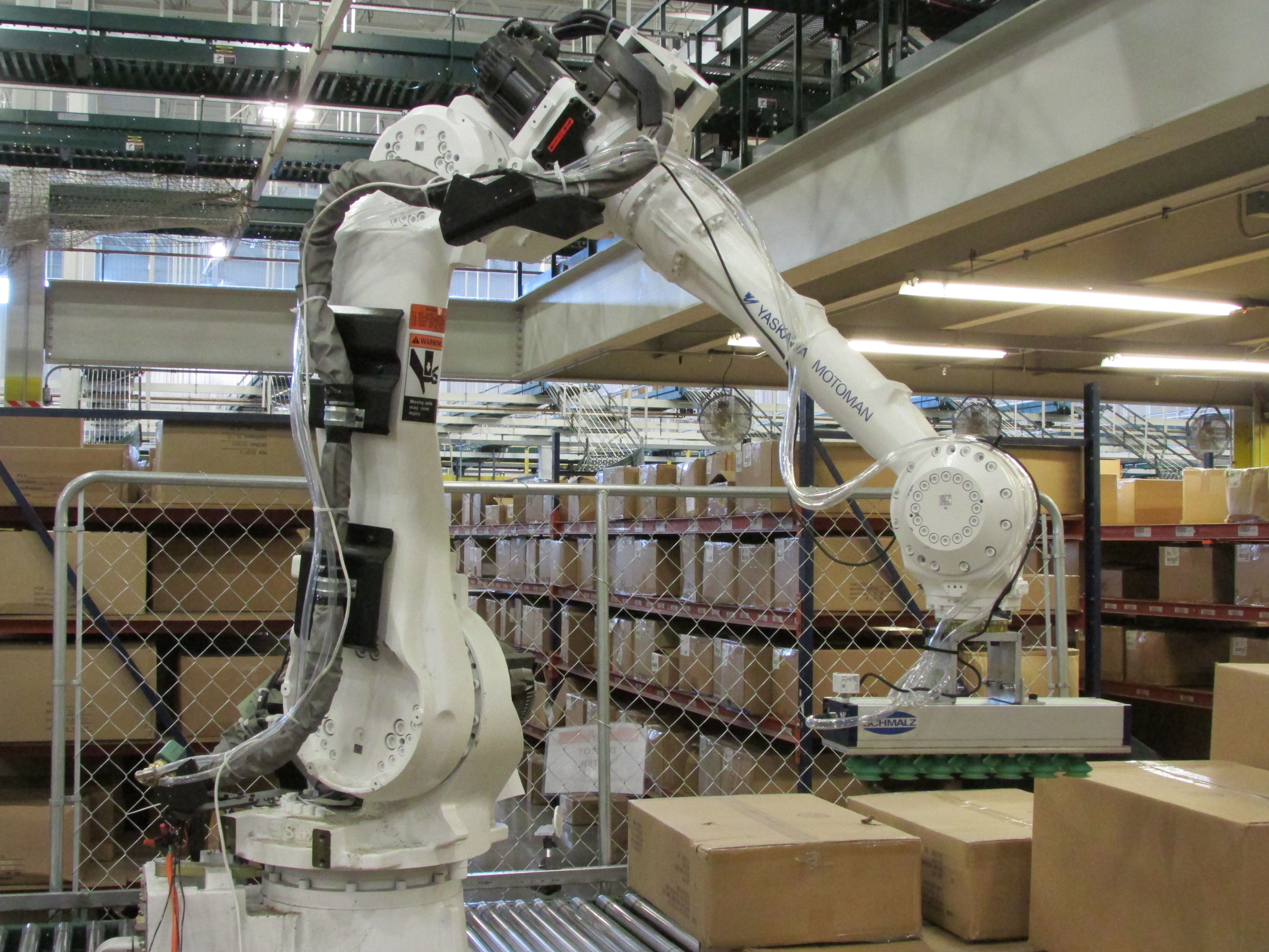 Using Ai In Smart Robotic Palletizing Operations