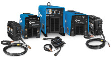 Miller has expanded its ArcReach remote control technology to three additional machines: the XMT 350 CC/CV, XMT 450 CC/CV and Dimension 650 multiprocess welding power sources.  ArcReach allows welding operators to adjust and set voltage at the point of use — the weld joint — without the use of control cords, reducing downtime and improving safety by reducing exposure to tripping hazards and lessening operator fatigue associated with walking to and from the power source. The technology also eliminates the need to settle for less-than-optimal welding parameters, which helps improve weld quality, and it increases productivity by providing for more time to weld.