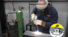 "The ""Powder Spray Torch: Repair & Hardfacing Guidelines"" instructional DVD from ESAB details operating instructions for the safe and successful use of Victor and Stoody powder spray torches."
