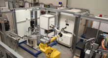 Available with CO2 or solid-state lasers, this cell from Arnold is suitable for mass production or smaller batches, owing to the onboard loading and powerful CNC programming capabilities of the machine.