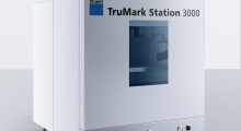 The compact TruMark Station 3000 from TRUMPF offers users a high degree of flexibility in marking that is ideal for shops with small or medium batch sizes that are looking to integrate the marking process into their production lines with a simple, safe and industrially robust workstation.
