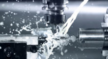 CNC milling at work.Lightweighting has introduced tougher metals and more advanced, severe metalworking processes that have driven up the importance of cutting fluids on the speed and depth of the removal operation, the type of cutting tool being used, operator preference, and health and safety issues.