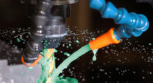 GreenCut Cutting Fluid from LubeCorp is a high performance, SAFE, biodegradable coolant used in machining, cutting, grinding, drilling, tapping and sawing of all metals, including carbon steel, stainless steel, brass, Inconel, titanium and aluminum.