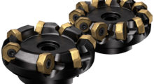 Sandvik Coromat's CoroMill 745 is available in medium and close pitch and as a differential pitch version for vibration-prone applications.