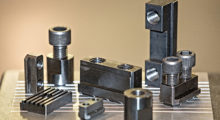 Operator safety and chuck life are greatly improved by eliminating the use of low carbon jaws nuts and T-nut in the machining process. Dillon Jaw Nuts, T-nuts, and Keys are available to fit all popular power chucks from 6 in diameter to 24 in diameter, including Forkhardt, Gamet, Howa, Kitigawa, Matsumoto (MMK), Nikko, Pratt Burnerd, Rohm, Samchully, Schuck, SMW, SMW-Autoblok, and more.