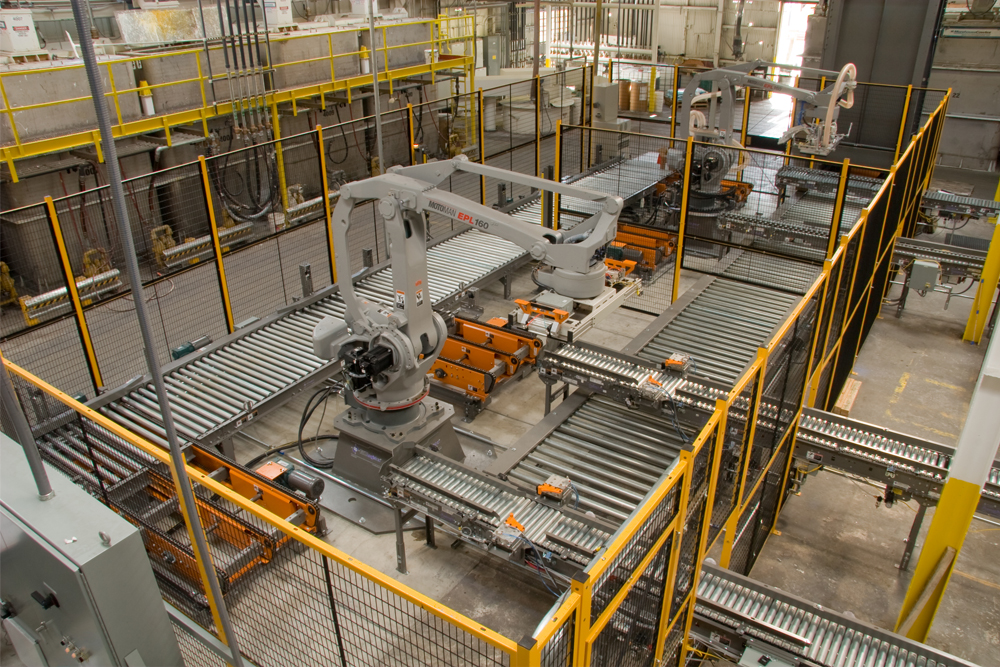 machine guarding systems for robotic welding cells and more