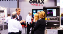 Booth N-6228: Visitors can learn how abrasive waterjet technology is engineered to provide successful cutting solutions by watching live demonstrations of JetMachining Centers from OMAX quickly cutting high precision 3D and taper-free parts from various material types and thicknesses without the need for any tool changes.