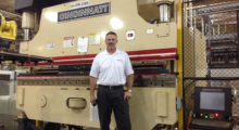 Pat King, Cincinnati Incorporated Has assumed his role as the regional sales engineer for Oklahoma and Arkansas.