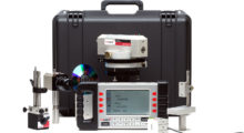 Booth N-6354: The versatile Laser Microgage PRO Dual Axis Measuring System from Pinpoint Laser is ideal for measuring stage and table runout, aligning bearings and journals, checking rail and track parallelism, gauging large parts and assemblies, leveling machinery, measuring shaft and machinery deflections, and more. (first view)