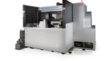 Booth S-8159: Ideal for boring, end milling, finish cutting, threading and U-axis machining, the FA1050 5-Axis horizontal machining center from Toyoda offers the highest removal rate in its class and lowest required maintenance for longer tool and machine life. Spindle support from four robust double-row cylindrical roller bearings and dual angular contact thrust bearings eliminates vibration.