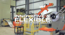 The new site highlights a variety of air feeds and servo feeds, pull-thru and powered straighteners, single and double end coil reels, load cars, coil cradles, threading tables, coil threading/restricting devices, plus a host of other options, along with a lineup of controls that includes ProfileSelect, SyncLoop, AutoSet and System Upgrades.
