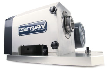 Tormach's RapidTurn CNC chucker lathe attachment designed for use with their PCNC 1100 or PCNC 770 mills.