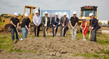 Visitors and dignitaries of the village of West Dundee recently joined the company staff in the festive groundbreaking ceremony for the new  facility, which is expected to be completed in December 2016.
