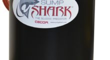 Booth NC-363: With a suction lift of 13 in Hg or 177 in water and pumping rate of 60 gpm, the new SE15-60PL Sump Shark sump cleaner from CECOR suck out an entire tank of metal chips, sludge, gravel and water in 30 seconds.