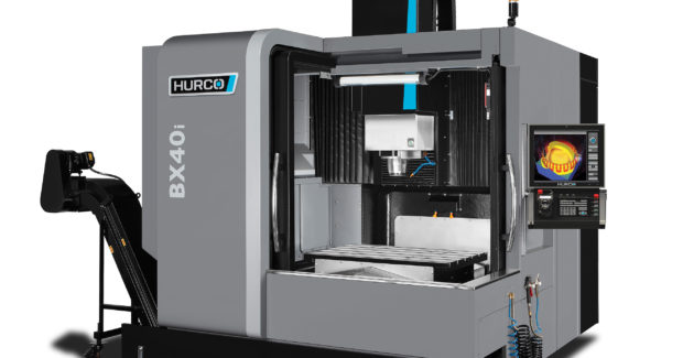 Booth S-8319: The BX40i double-column (bridge-type) CNC machine from Hurco offers exceptional accuracy and outstanding surface finish capabilities for the mold market and aerospace industry.