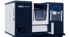 Booth S-8119: Engineered with a triple stack turret with a tool changer, the C1 Multi-Process Turning Center from Hwacheon is a half turning center, half machining center with Y- and C-axis control that completely and precisely manufactures parts with complicated shapes in a single chucking operation.