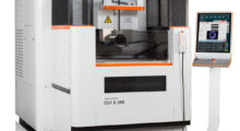 The AgieCharmilles CUT E 350 wire EDM from GF Machining Solutions has a large touchscreen HMI that is intuitive in operation and features onboard Intelligent Collision Protection, built-in machining strategies and flexible job management for high performance and high productivity.