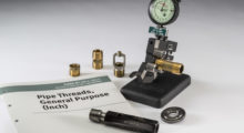 External and Internal Variables Inspection Systems from Johnson Gage are for NPT, NPTF, ANPT, and NGT Threads in accordance with the new ASME B1.20 Specification. Their new Indicating Systems are designed to replace L1 Thread Ring and Thread Plug Gages.