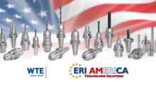 An excellent choice for the ultra-precision and reliability required for medical manufacturing, WTE Precision Hydraulic Chucks from ERI America are developed specifically for high speed micro machining up to 60,000 rpm while delivering concentricity < 0.005 mm in a clamping range from 0.2 mm to 6.4 mm.