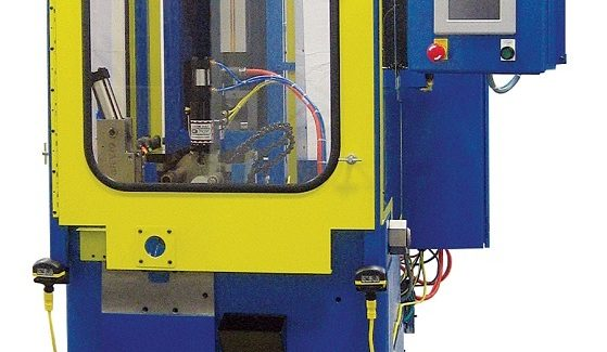 For tubes up to 1½ in diameter, M71-E series Electric Tube End Forming Systems from Manchester Tool & Die feature independent stroke speed adjustment, easy access for tooling changeovers and service, energy savings and noise reduction.