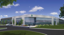 A rendering of the new 75,000 sq ft facility that is slated for opening in the spring of 2017. The new location will more than double the space of their current facility and feature an impressive showroom to display their product line. There will also be an expanded training area and a separate demo area for hands-on display of technologies.