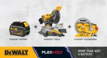 The innovative FLEXVOLT System from DeWALT provides higher power and extended runtime for cordless power tools used on the jobsite. It offers power equivalent to corded tools,