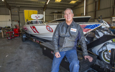 Warren Berg, the owner of Precision Sterndrive, builds custom propulsion systems that combine inboard power and outboard drive for offshore racing boats competing at the national level. He specializes in the Bravo and IMCO sterndrives, and Super Vee light classes and bracket style classes of racing.