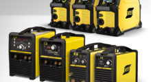 Booth N-4529: ESAB has a greatly expanded line of single-phase Stick/TIG and AC/DC TIG/Stick inverters that were previously sold under the Thermal Arc and Tweco brands. Now offered as ET (ESAB TIG), ES (ESAB Stick) and Fabricator Series of 3-in-1 MIG/Stick/TIG inverters, this single-phase inverter product line includes the new ESAB ET 141i AC/DC, the first 120V inverter that provides an AC TIG output for welding aluminum up to 1/8 in thick.