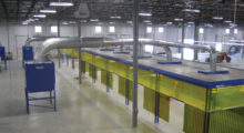 Source capture should be the first line of defense wherever possible; removing fumes at their source reduces airflow and energy requirements, and removes fumes from the breathing zone to protect worker health and safety. If source capture is not possible or practical, an ambient filtration system can be used to continuously clean the air for the whole facility.