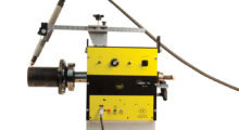 Booth N-4329: The economical PCC-1 Pipe Coupon Cutting Machine from Bug-O Systems is ideal for welding schools and training facilities that cut pipe to a desired length or bevel the edge of a pipe for weld prep. It features a self-centering speed chuck that can grip up to 8 in OD pipe and 3 in to 11 in ID pipe.