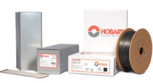 Booth N-3729: Filler metals from Hobart Brothers address common welding challenges in metal fabrication while improving productivity, quality and cost savings.