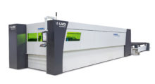 "The Phoenix FL 6020 fiber laser cutting machine achieves superior cut quality through an advanced cutting head design that allows automated adjustment of focus position and focus diameter, known as ""zoom focus."" To achieve the highest possible speed in every material thickness, focus position and diameter are automatically controlled and adjusted by the CNC controller. This advanced technology makes the Phoenix FL one of the most flexible fiber laser cutting machines available today – able to cut different sheet thicknesses with high productivity and excellent cut quality."