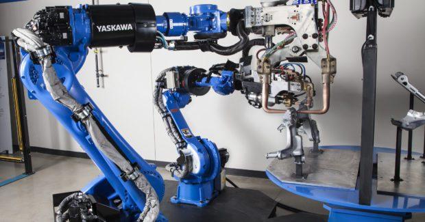 Compact Robots For Spot Welding