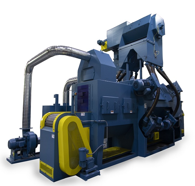 Booth B 5423 The MB1824 Continuous Chain Mesh Belt Shot Blaster From Viking Blast Wash Systems Reduces Operating Cost And Increases Serviceability