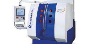 Rollomatic's LaserSmart 5-axis CNC laser-cutting machine